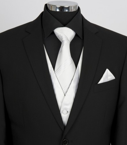 Mens Tie & Hank Set
