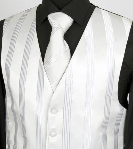 Traditional 6 button vest welt pocket